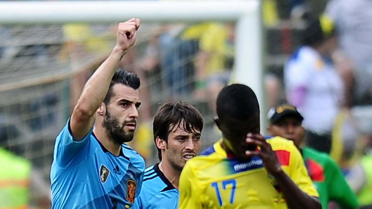 Alvaro Negredo: Opened the scoring for Spain