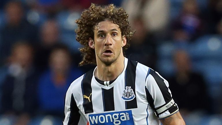 Fabio Coloccini: Defender praised by Newcastle manager Alan Pardew