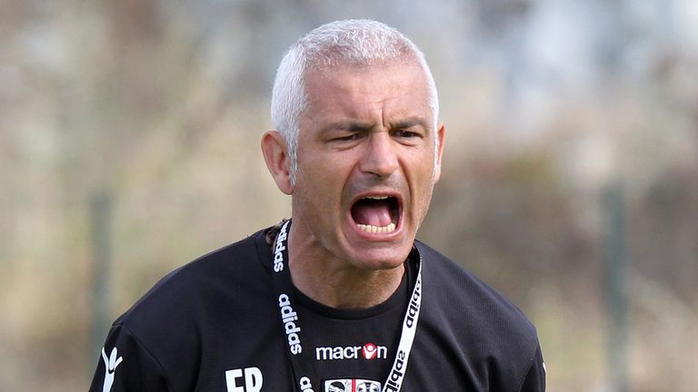 Fabrizio Ravanelli: Shown the door by Ligue 1 strugglers