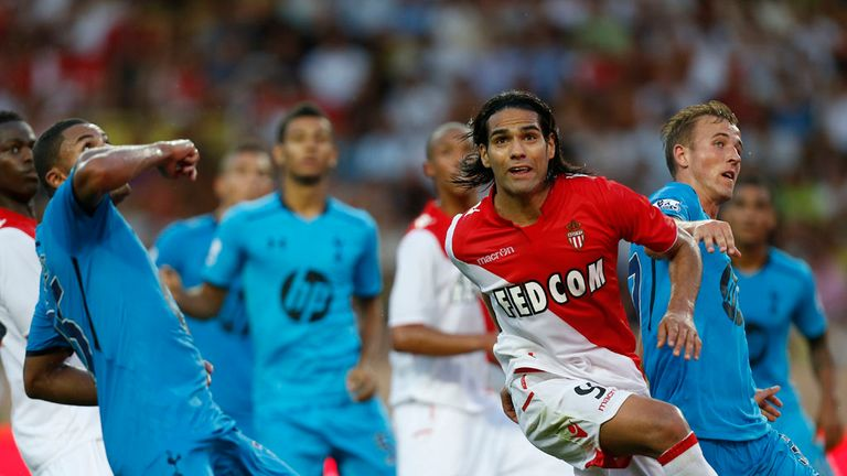 Radamel Falcao: On target for Monaco