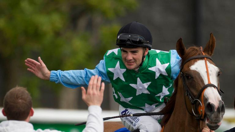 Fergal Lynch is free to ride in Britain
