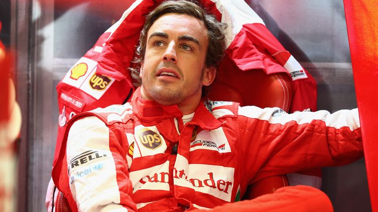 Fernando Alonso is a long-term cycling fan