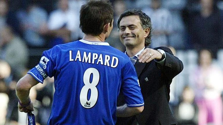 Frank Lampard: Happy to see Mourinho back at Stamford Bridge