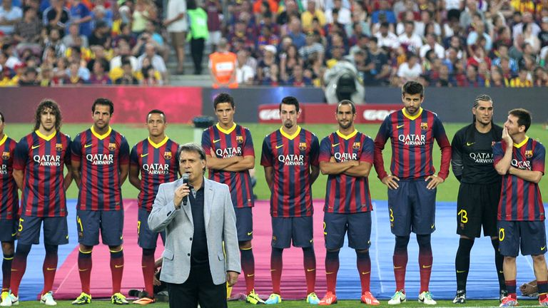 Gerardo Martino: Will lead Barca in their title defence