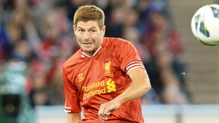Steven Gerrard: Rebuffed the opportunity to leave Liverpool last year