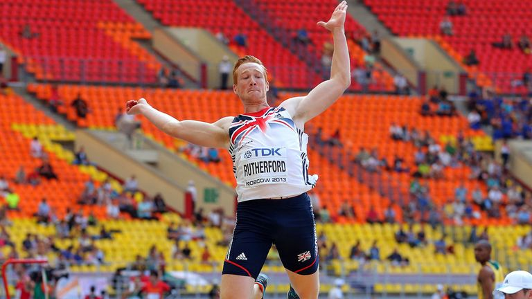 Greg Rutherford: New British record for Olympic champion