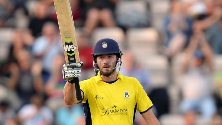James Vince: Will captain Hampshire in T20 Blast
