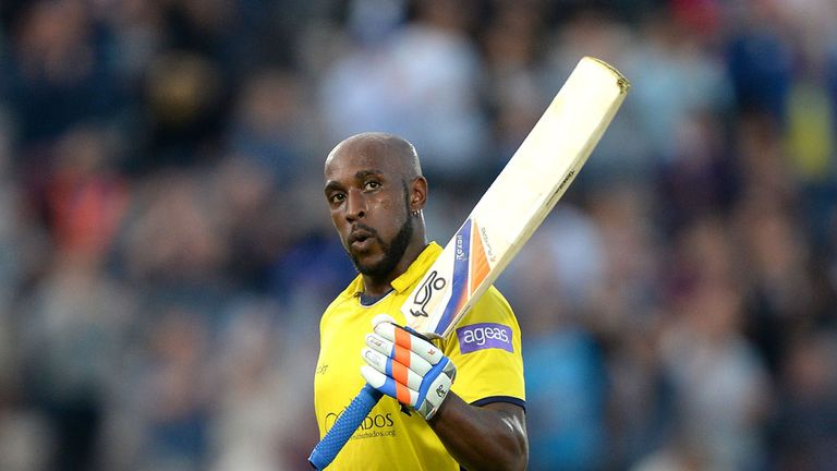 Michael Carberry: Named in England's T20 squad to face Australia