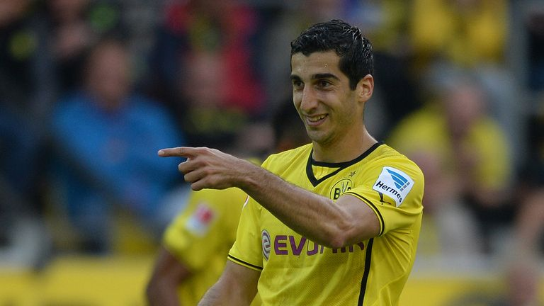 Henrikh Mkhitaryan: Scored Dortmund's second