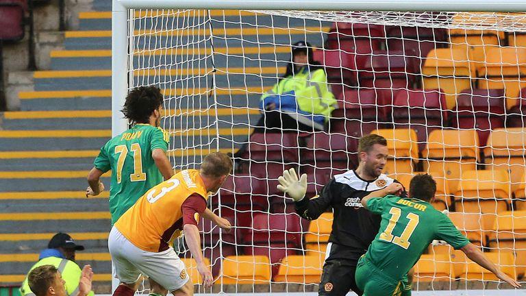 Ivelin Popov: The striker nets at Fir Park during Kuban Krasnodar's 2-0 win