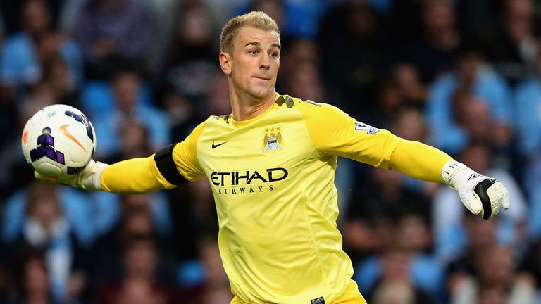 Joe Hart: Trusted by Pellegrini for now