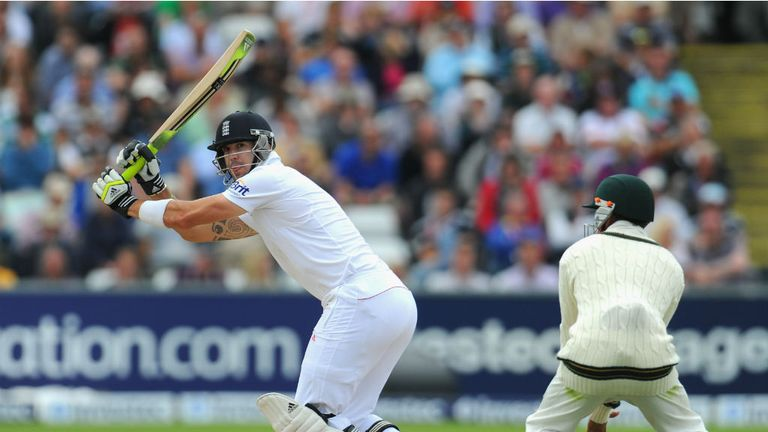 Kevin Pietersen: Scored the second-slowest half-century of his England career