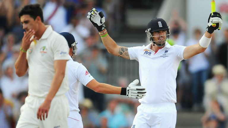 Kevin Pietersen held up Australia with an important century
