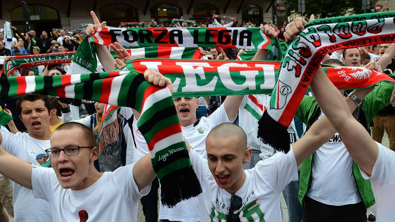 Legia Warsaw: Behaviour caused UEFA action