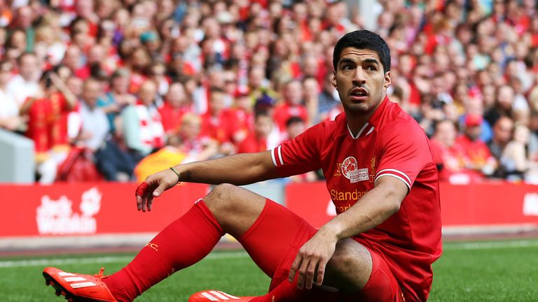 "Luis Suarez: Hoping for ""friendly"" resolution to future"
