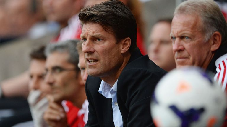 Michael Laudrup: Swansea boss wants to move on after losing to Manchester United