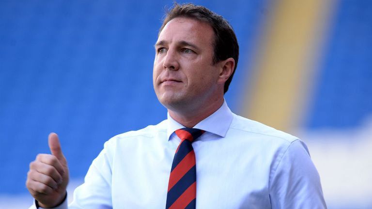 Malky Mackay: Wants noisy backing from the Cardiff fans against Man City