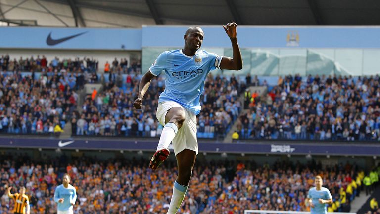 Yaya Toure: Accused Moscow fans of making monkey chants