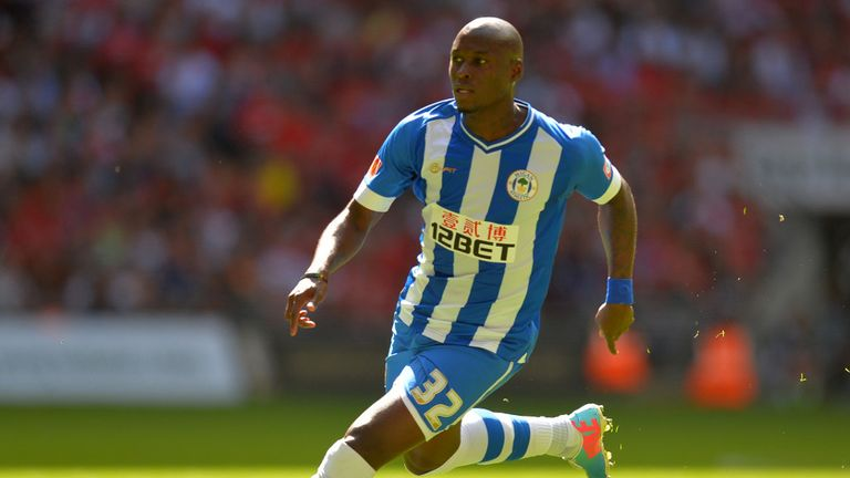 Marc-Antoine Fortune: Sealed the win for the Latics