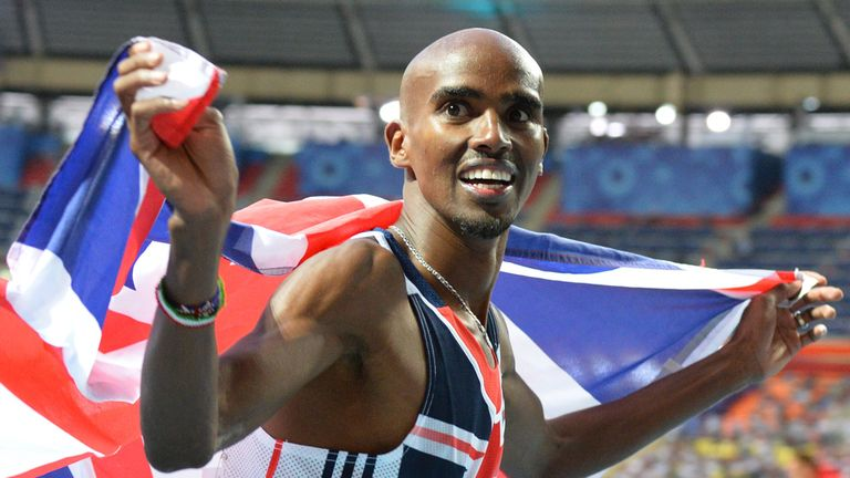 Mo Farah claims a double-double by cleaning up in Moscow