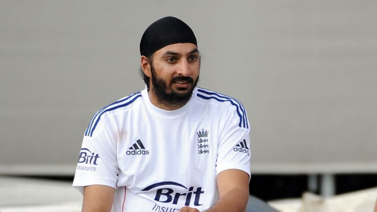 Monty Panesar took three wickets during the match at Alice Springs