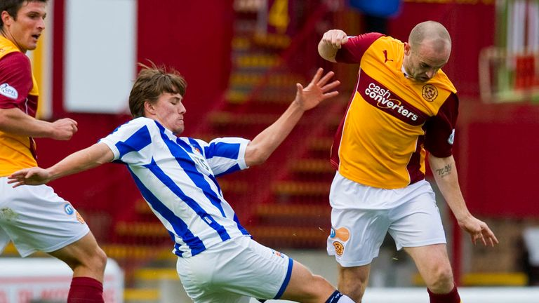 James McFadden: Could make Motherwell return