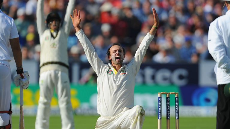 Nathan Lyon stars for the Aussies