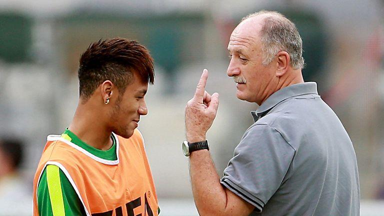 Luiz Felipe Scolari (r): Open to Premier League return