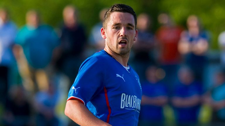 Nicky Clark: Rangers striker expects a tough night at Arbroath