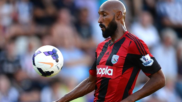 Nicolas Anelka: Has scored seven goals during pre-season