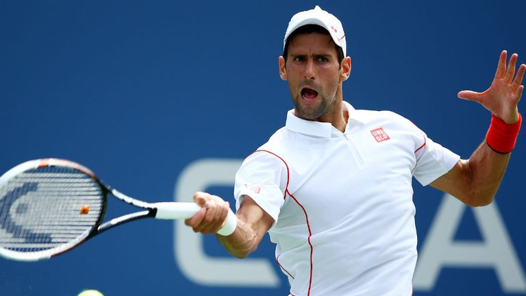 Novak Djokovic: The top seed survived an uncomfortable first set