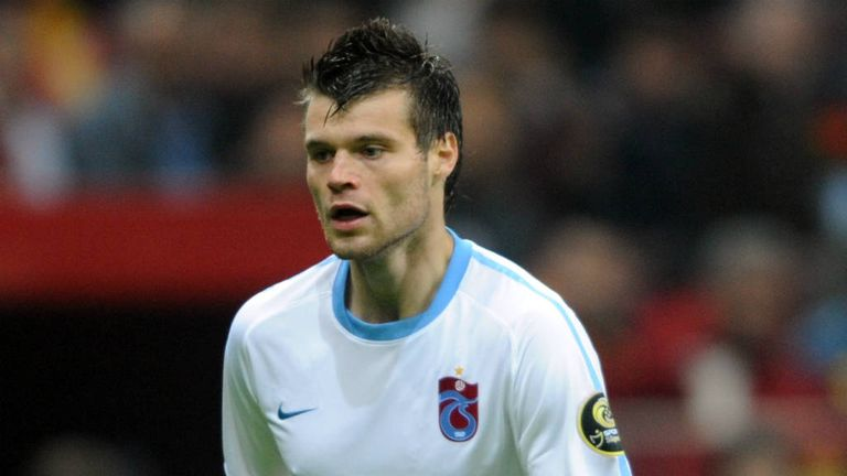 Ondrej Celustka: Trabzonspor defender close to joining Sunderland on loan