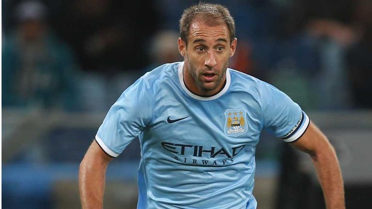 Pablo Zabaleta: Signed long-term City deal