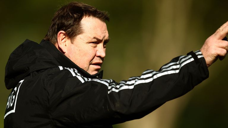 Steve Hansen: Will coach the Barbarians against Fiji in November