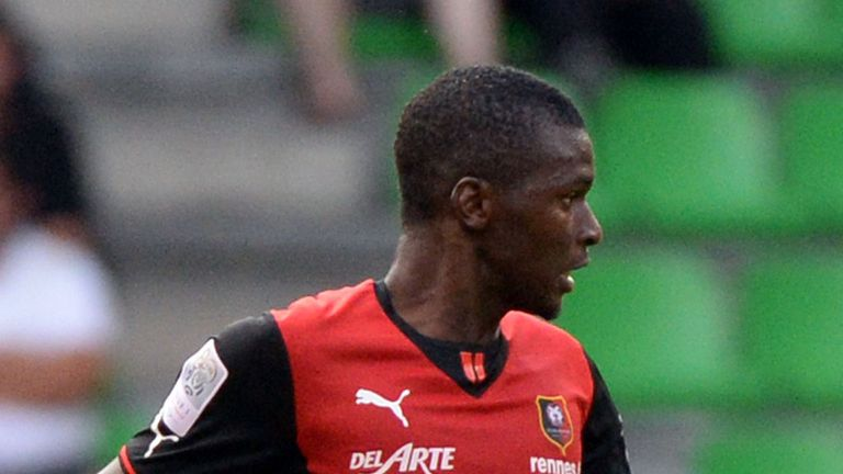 Sadio Diallo: The midfielder will spend the season on loan at Lorient