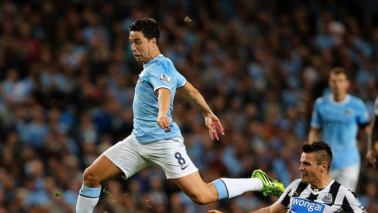 Samir Nasri: Says competition for places brings out the best in him