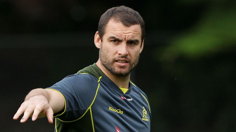 Scott Fardy: Back in at blindside flanker for Australia
