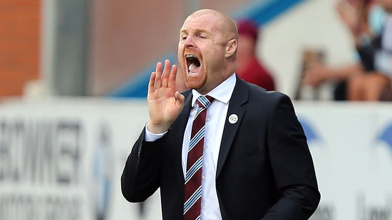 Sean Dyche: Hailed his Burnley strikeforce