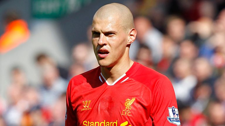 Martin Skrtel: Was linked with Napoli, but is happy to still be at Anfield