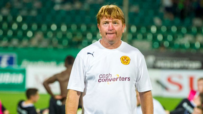 Stuart McCall: Motherwell boss is targeting the signing of a winger before the transfer deadline