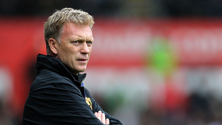 David Moyes: Relieved to see Man Utd make a winning start against Swansea