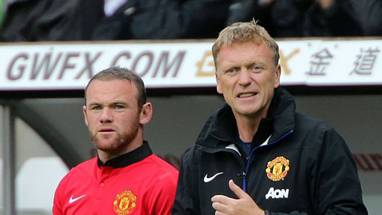 Wayne Rooney: Feels Man Utd's players have let David Moyes down
