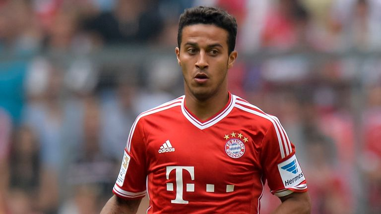 Thiago Alcantara: Midfielder pleased with Bayern Munich move