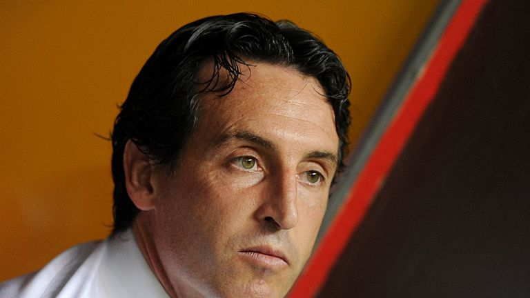 Unai Emery: Insists confidence is high