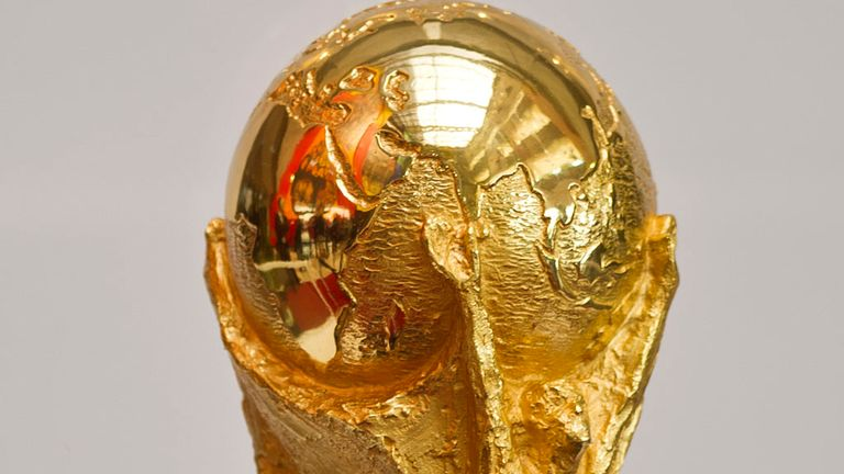 World Cup trophy: Play-offs draw on Monday 21 October