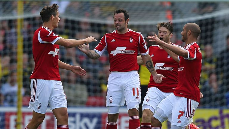 Andy Reid: The Nottingham Forest midfielder thinks his side and Watford are amongst the Championship's top four teams