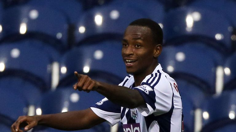 Saido Berahino: Hat-trick hero for West Brom in Capital One Cup win