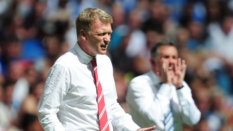 David Moyes: Impressed United staff