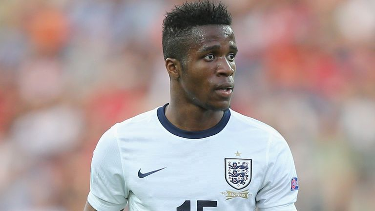 Wilfried Zaha: Says Under-21s are in good shape