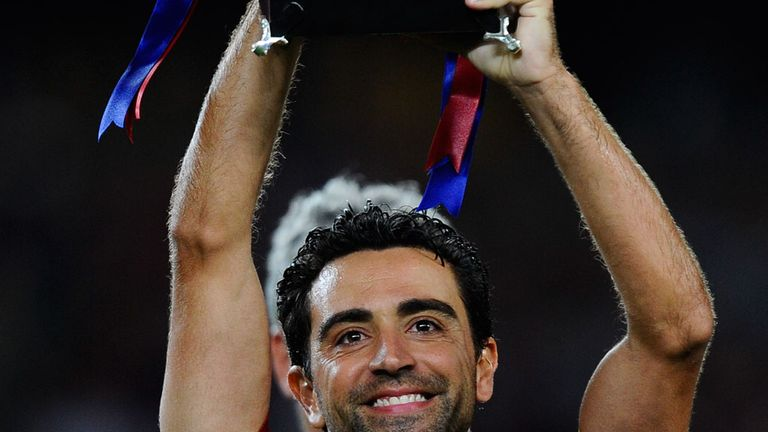 Xavi: Looking for more success with Barcelona